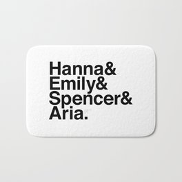 Pretty Little Liars Bath Mat
