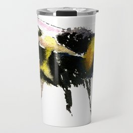 Bumblebee, bee art, bee design, minimalist bee honey Travel Mug