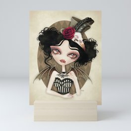 Countess Nocturne Vampire Mini Art Print
