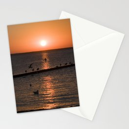 Summersunset at the Beach - Isle Ruegen Stationery Cards