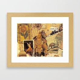 Indian Glories Framed Art Print