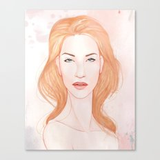 Pink Alice II Canvas Print