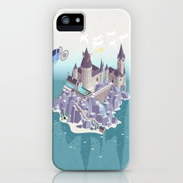 Hogwarts series (year 4: the Goblet of Fire) iPhone Case