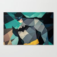 dc comics Canvas Prints featuring DC Comics Superhero by Eric Dufresne