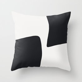 XY Opposite Throw Pillow