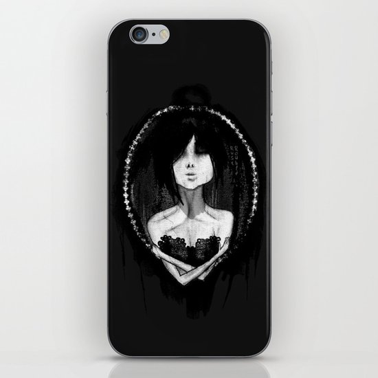 GothLoli (ゴスロリ) iPhone & iPod Skin