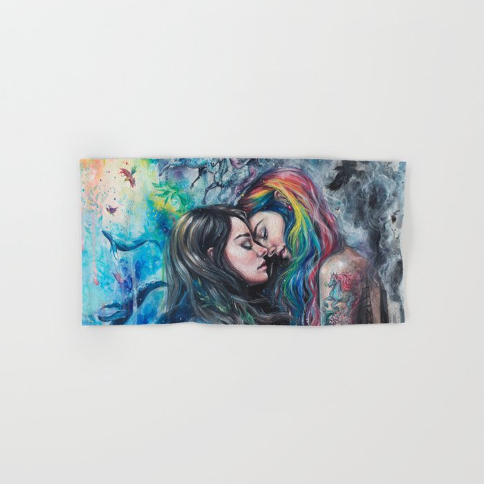 Colorful Me Hand & Bath Towel