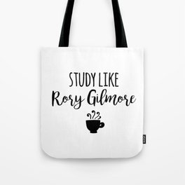Gilmore Girls - Study like Rory Gilmore Tote Bag