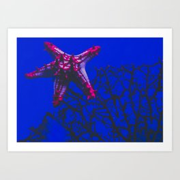 patrick star Art Print