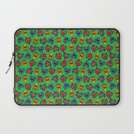 Retro Toy Finger Monsters Laptop Sleeve