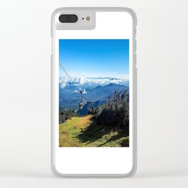 Cannon Mountain's Aerial Tramway Clear iPhone Case