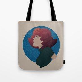 Wavy Blues Tote Bag