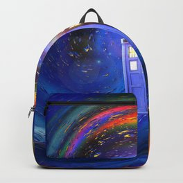 Tardis Doctor Who Fly into Time Vortex Backpack