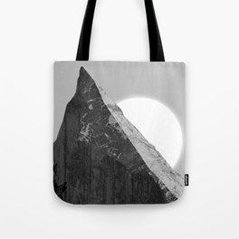 Razor-sharp peak Tote Bag