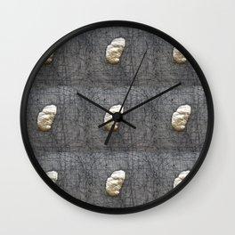 Gold Stone Wall Clock