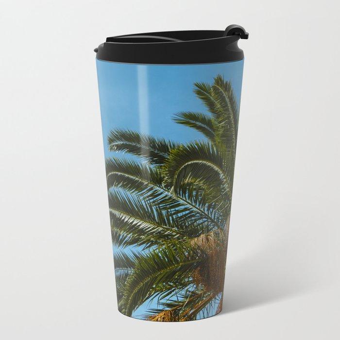 Tropical landscape Metal Travel Mug