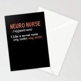 Neuro Nurse Definition Stationery Cards