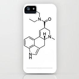 LSD black/white iPhone Case