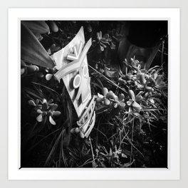 Tiki Garden Art Print