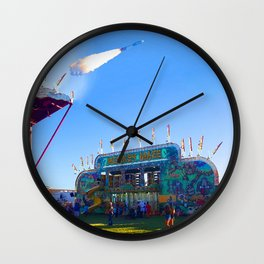 Act Of War Fair Wall Clock