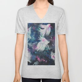 Galaxy Bettas III Unisex V-Neck