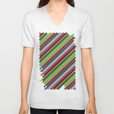 Up and Down Unisex V-Neck