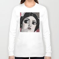 leia Long Sleeve T-shirts featuring Leia by Drawn by Nina