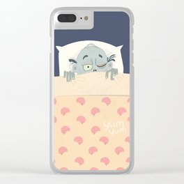 Moodie Zombie Clear iPhone Case
