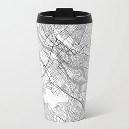 Bremen Map Line Travel Mug
