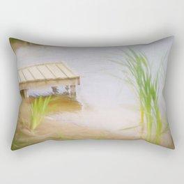 Lazy Sundays Rectangular Pillow