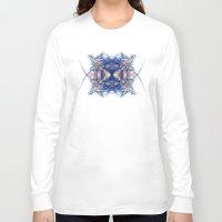 indigo Long Sleeve T-shirts featuring Indigo by Alla Ilencikova