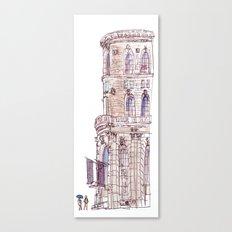 Corner Building Canvas Print