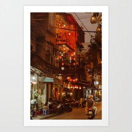Hanoi Lights Art Print