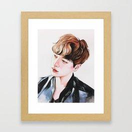 Inho Framed Art Print