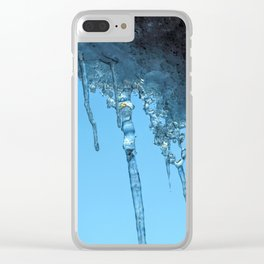 Ice Photo 2 Clear iPhone Case