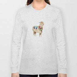 Peruvian Llama Long Sleeve T-shirt