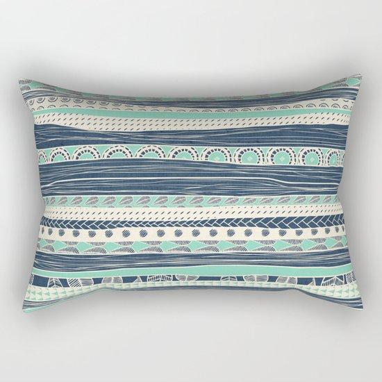 aztec color variation Rectangular Pillow