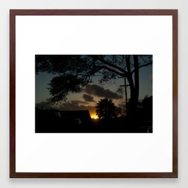 California Dream Framed Art Print