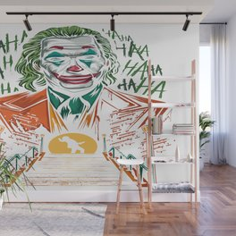 Happy Face Wall Mural