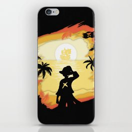 The Pirate King iPhone Skin