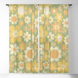 Sunny Side Up Sheer Curtain