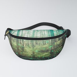 Magical Green Forest - Nature Photography Fanny Pack