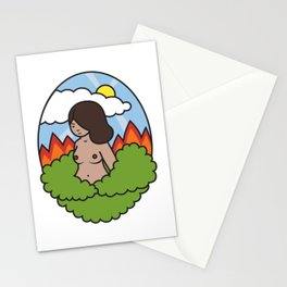 Burn it All Down Stationery Cards