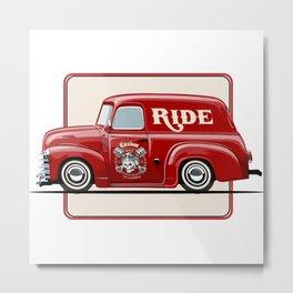 little cute truck Metal Print