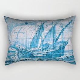 Portuguese Caravela Rectangular Pillow