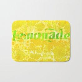 Fresh Lemonade - Abstract Digital Arwork Bath Mat