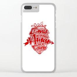 Flechazo Clear iPhone Case