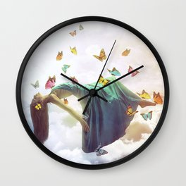 Take me away Wall Clock