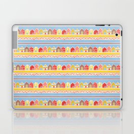 Beach Huts Laptop & iPad Skin