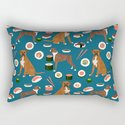 Boxer dog pattern sushi dog lover pet portraits boxers dog breed by pet friendly by petfriendly